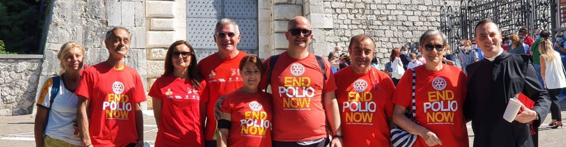 Rotary in Cammino, Salita al Monte