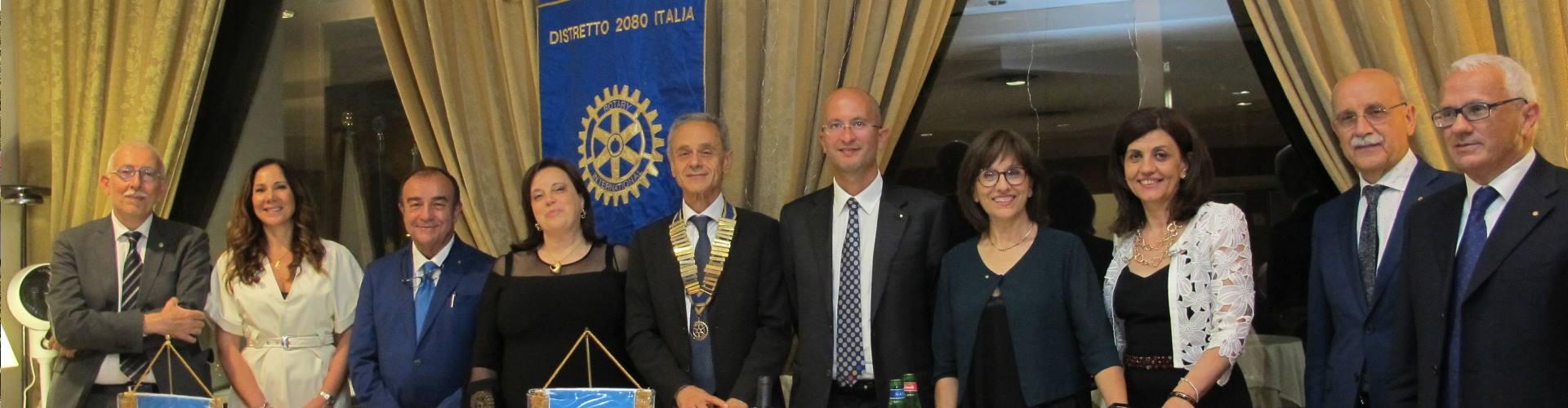 Passaggio della Campana Rotary Club Cassino